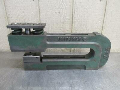 Unipunch 12ah 2-12 Punch Press C-frame Die Set Shoe 12 Throat 2-12 Wide