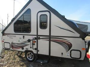 2015 Rockwood Premier A122 Hard Side Fold Down Camper