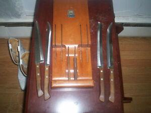 set de couteaux vintage (Qualité)