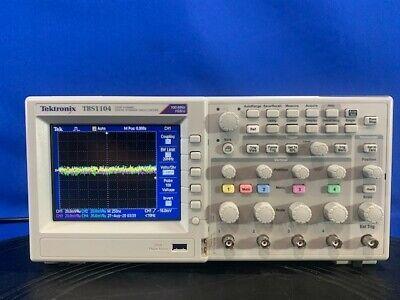 Tektronix Tbs1104 Digital Oscilloscope 100 Mhz 4 Channel