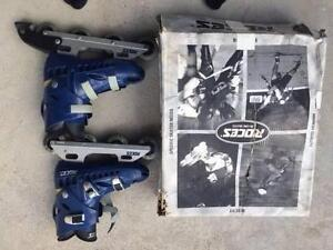 in line skates: Roces Size US 9 Sylvania Waters Sutherland Area Preview