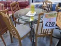 💥DINING CHAIRS 💥ONLY £10 EACH💥CLEARANCE💥