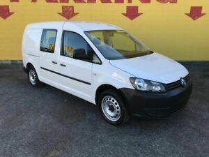 2014 Volkswagen Caddy 2KN MY14 TDI250 BlueMOTION Crewvan Maxi White 5 Speed Manual Van Winnellie Darwin City Preview