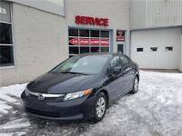 2012 Honda Berline Civic LX  BLUETOOTH (GARANTIE 1 ANS INCLUS
