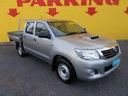 2015 Toyota Hilux KUN16R MY14 SR Double Cab Silver 5 Speed Manual Utility Winnellie Darwin City Preview
