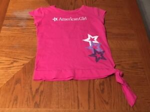 AMERICAN GIRL Pink Tee Youth Size L(14)