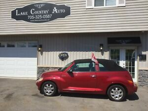 2005 Chrysler PT Cruiser Convertible-Leather,Auto,power top