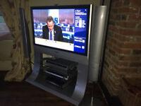 """Panasonic Viera 42"""" TV with surround sound system"""