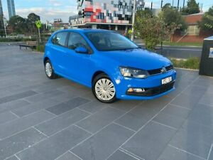 2016 Volkswagen Polo 6R MY16 66TSI DSG Trendline Blue 7 Speed Sports Automatic Dual Clutch Hatchback South Melbourne Port Phillip Preview