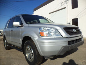 2003 Honda Pilot EX-L SPORT-LEATHER-SUNROOF--4WD---8 PASSENGERS
