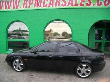 2000 Alfa Romeo 156 Twin Spark Black 5 Speed Manual Sedan