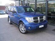 2008 Dodge Nitro KA MY08 SXT Blue 4 Speed Automatic Wagon Invermay Launceston Area Preview