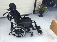 Orion 2 wheelchair and two custom cusions