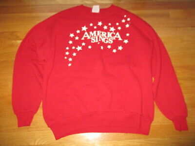 Vintage AMERICA SINGS - MACY's Presents TREE LIGHTING (XL) Sweatshirt CHRISTMAS