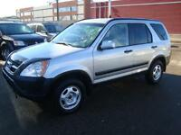 2002 Honda CRV....ALL WHEEL DRIVE...HARD TO FIND..