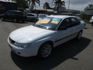 2003 Holden Commodore VY Executive White 4 Speed Automatic Sedan