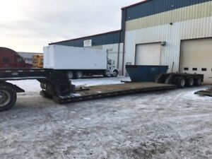 Lowbed Trailers. Great condition!! Tandems and Tridem