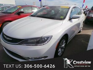2015 Chrysler 200 C V6 w/ Sunroof, Navigation