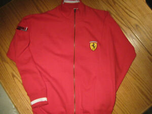 Ferrari Full Zipper Cotton Sweater New Condition