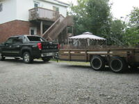EZEEMOVE TRUCK & LARGE TRAILER. 24hr TEXT FOR QUICK QUOTE