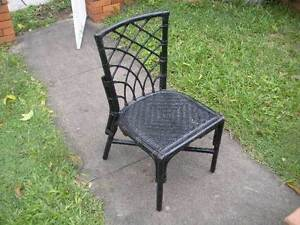 Black Cane Chair $9 Albion Brisbane North East Preview
