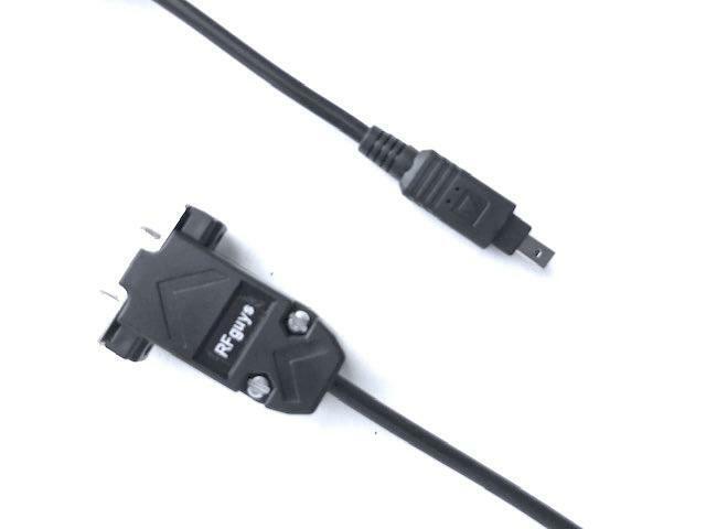 Scanner Programming Cable Bearcat / Uniden BC250D BC296D UBC3300XLT