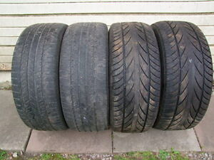 4-255/55R18 ALL SEASON TIRES CAN SELL IN PAIRS