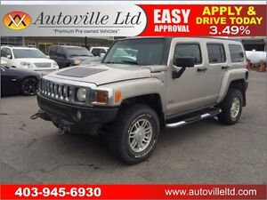 2007 HUMMER H3 SUV LEATHER EVERYONE APPROVED