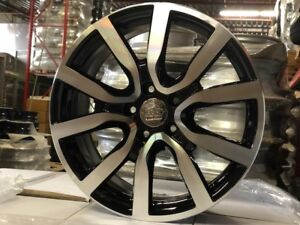 "New arrival 18"" vw black with machined also packages"