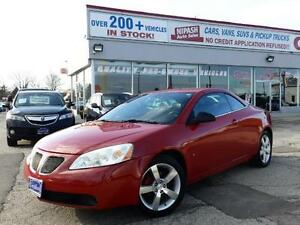 2007 Pontiac G6 GT CONVERTIBLE LOW KM 2 YEARS P-T- WARRANTY