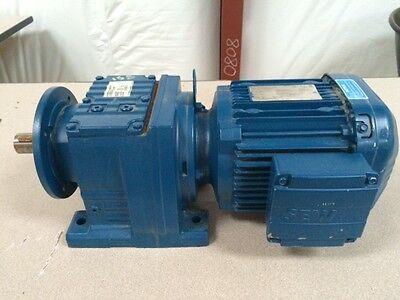 Sew Eurodrive Brand New 1.5hp 3ph 1740 Rpm Tefc 60hz W Gear Box