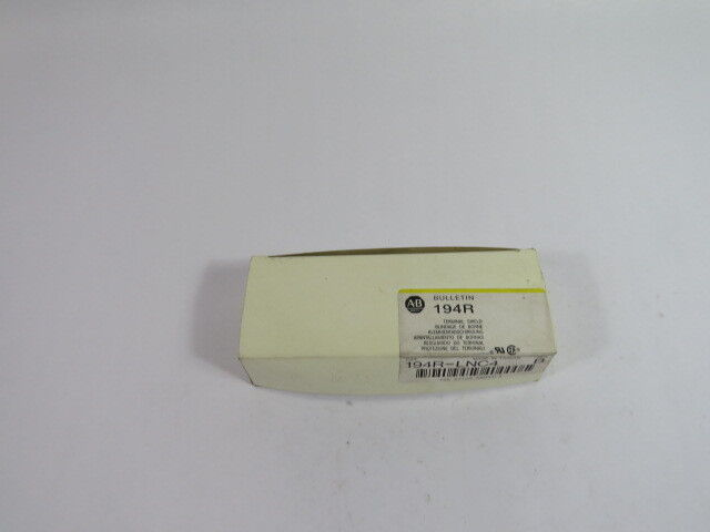 Allen-Bradley 194R-LNC4 Series B Terminal Shield  NEW