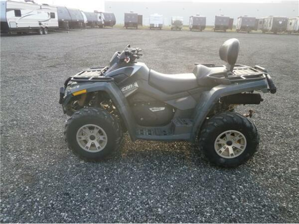 can am 2007 can am outlander max for sale canada. Black Bedroom Furniture Sets. Home Design Ideas