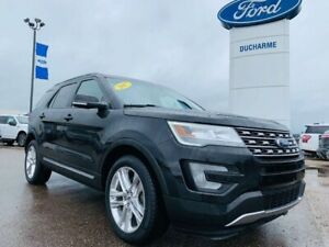 2017 Ford Explorer XLT, LEATHER! LOADED! $244 B/W! 1 OWNER!