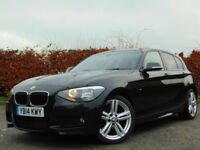 BMW 1 SERIES 2.0 116D M SPORT 5d (black) 2014