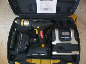 Cordless Drill with 2 NiCad Batteries