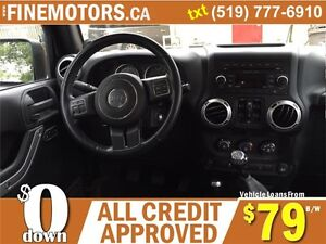 2012 JEEP WRANGLER UNLIMITED SAHARA * 4x4 * BOTH HARD & SOFT TOP London Ontario image 8