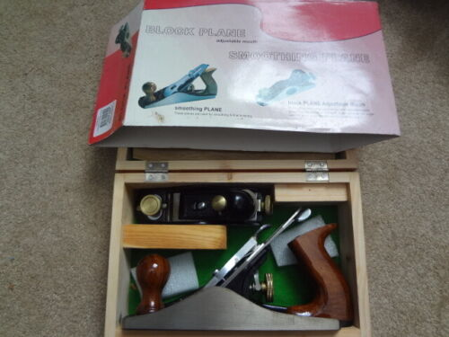 Grizzly H5699 2 pc. Woodworking Plane Set