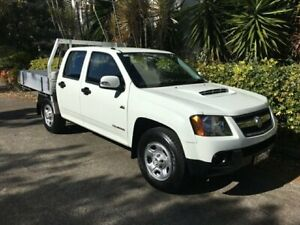 2010 Holden Colorado RC MY10 LX (4x2) White 5 Speed Manual Crew Cab Pickup Bowen Hills Brisbane North East Preview