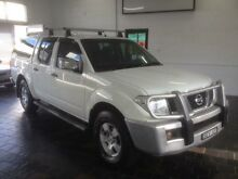 2008 Nissan Navara D40 ST-X (4x4) White 6 Speed Manual Dual Cab Pick-up Sutherland Sutherland Area Preview