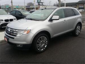 2009 Ford Edge Limited,NAVIGATION,PANORAMIC ROOF,FREE WARRANTY!!