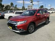 2015 Mitsubishi Outlander ZK MY16 LS Red 6 Speed Continuous Variable Wagon Greystanes Parramatta Area Preview