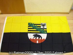 Fahnen Flagge Sachsen Anhalt Sonderposten - 90 x 150 cm