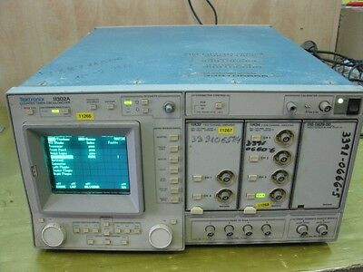 Tektronix 11302a Counter Timer Oscilloscope W11a3211a3411000 Ser Plugin