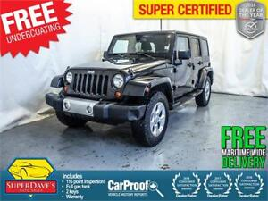 2013 Jeep Wrangler Unlimited Sahara 4X4 *Warranty*$258.82 Bi/OAC