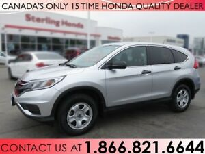 2015 Honda CR-V LX | 1 OWNER | HONDA PLUS WARRANTY