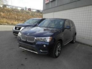 2016 BMW X3 Xdrive28i | Leather | Push Start | USB/AUX