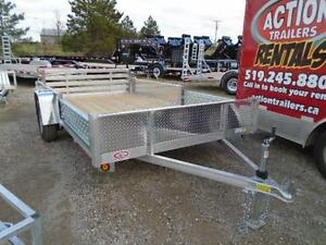 12' ALUMINUM UTILITY - TONS OF FEATURES AT A LOW PRICE! London Ontario image 3