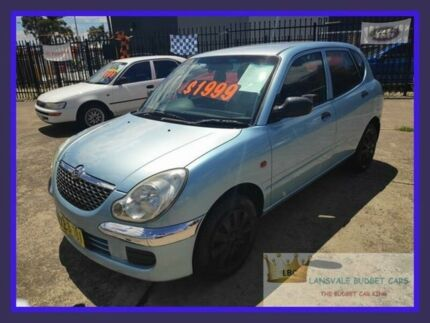 2003 Daihatsu Sirion M100 Blue 5 Speed Manual Hatchback Lansvale Liverpool Area Preview