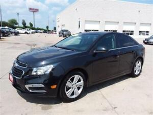 2014 Chevrolet Cruze DIESEL-LEATHER-ROOF-CAMERA-NO ACCIDENTS